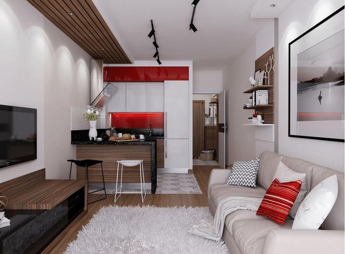 Визуализация квартиры студии