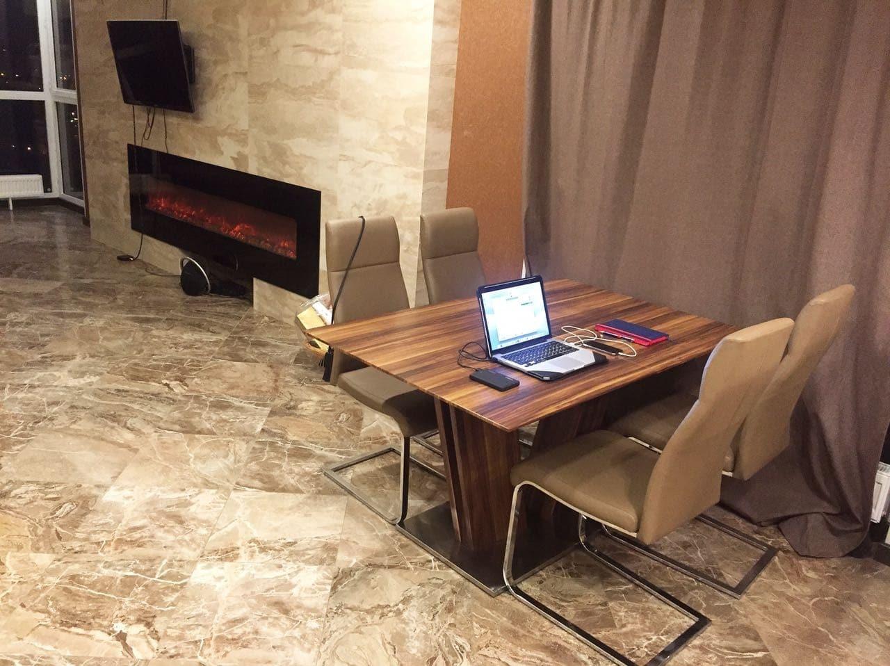гостиная комната квартиры, заказать дизайн проект квартиры в ЖК Московские Водники