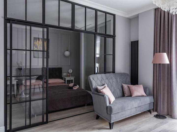 Дизайн проект квартиры ЖК «Дом на Дворянской»