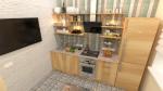 Дизайн проект однокомнатной квартиры 37 м в ЖК Лермонтовский