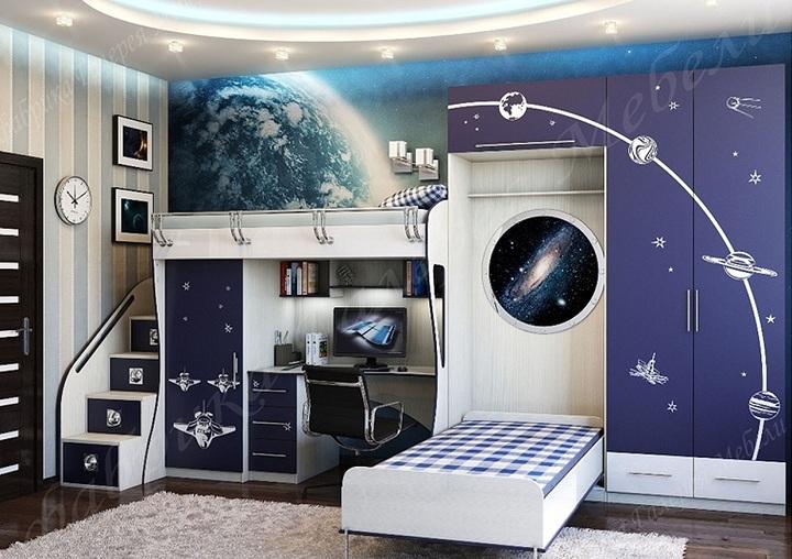 Космическая комната.