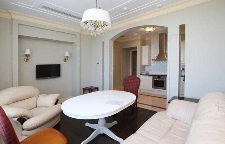 Дизайн проект в ЖК Молодежный (Голицыно), планировка квартиры