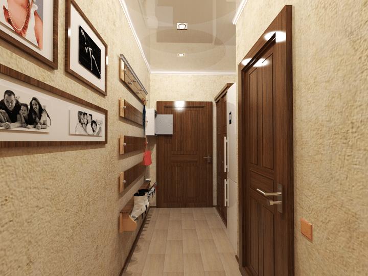 Визуализация от комнаты.