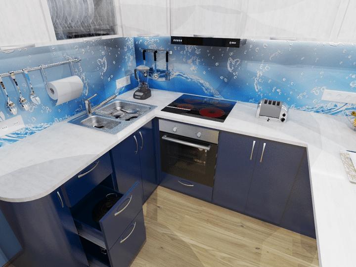 Проектирование полнофункциональной кухни.
