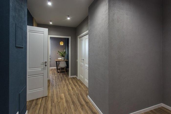 Интересный проект дизайна в ЖК Золотые ключи 2, планировка квартиры и ремонт.