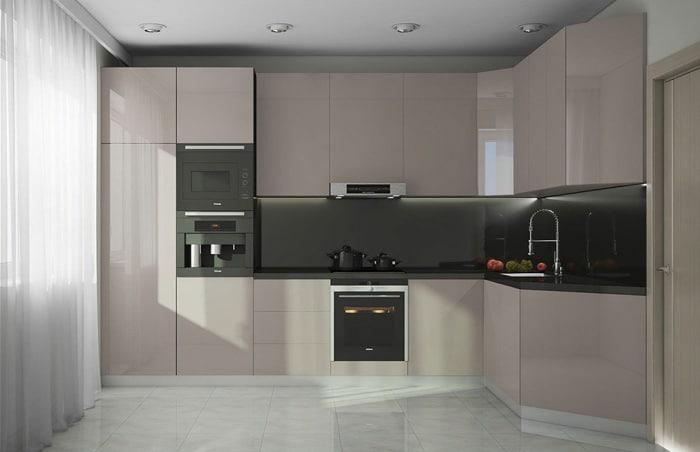 Верхние шкафы 900 мм в высоту. Есть два стандарта 720 и 900, все зависит от высоты помещения.